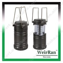(1500253) Competitive Price 30 LED Super White 3*AA Battery Hanging Camp Light