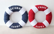 2015 Sweet life buoy creative home furnishing fabric decoration cushion and pillow