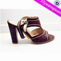 sandálias de salto alto de imagem