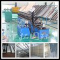 Metal luz quilha de aço do rolo máquina de formação, luz de aço bitola de treliça metálica linha de produção