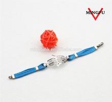 2015 custom fashion handmade braided hemp bracelet
