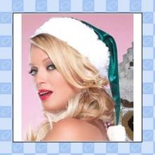 high quality 2015 fashion children decorated santa hat