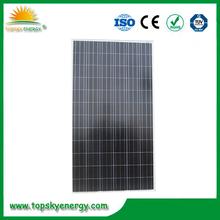260w poly solar panels high efficiency for solar power plant 10mw
