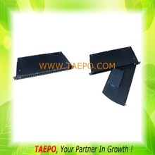 19 inch rotary type 24 fibers odf Front patching and splicing shelf