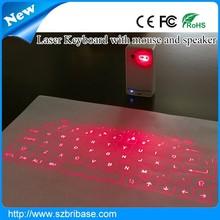 Magic Cube laser Virtual keyboard QWERTY keyboards Bluetooth qwerty keyboard mouse