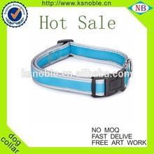 Pets accessories plain dog training collar