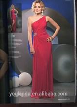 good time usa dress asymmetrical one-shoulder ladies western dress designs
