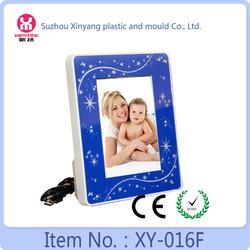 Promotion gift 5X7inch LED love photo frame,acrylic photo frame