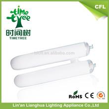 Hot !!! 2u T4/12mm 6-6.5w 8000h triband tube fluorescent lamps tube/cfl/energy saving lights