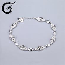 jewelry design with sterling silver925 cz bracelet