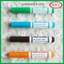 PP material mini stamp water color pen