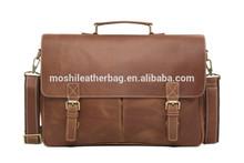 Genuine Vintage Leather Men's Hand Laptop Messenger Bags