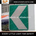 led de tráfico de la señal de seguridad