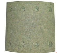 scania bus price low quality high, brake lining 19246, yantai longkou manufacture
