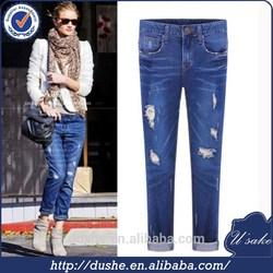 high quality garment factory denim trousers wholesale