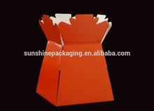 Flower packaging - Bouquet porto vase box