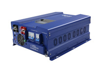 mppt solar charge controller inverter 12 volt 220 volt 6000 watt pure sine wave inverter
