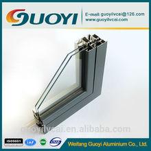 6063 T5 thermal_break aluminium profiles with PVC