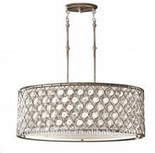 good quality modern crystal pendant ceiling lamp UL CUL ETL CE ROHS hotel lamp