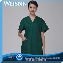 odor-free spandex/organic cotton cotton/spandex corset red and white hot nurse costume