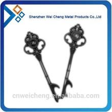custom key bottle opener with keyring
