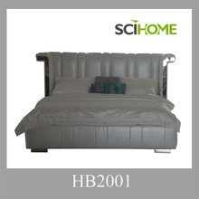 2015 new modern bedroom sets code HB2001 King and Queen Size available