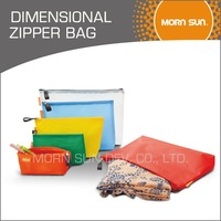 eco friendly dimensional zipper bag