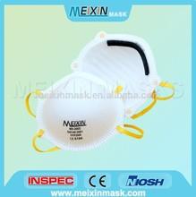 FFP2 Disposable chemical face mask respirator FFP2