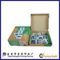 venta caliente de encargo tarjetas de educación para los niños