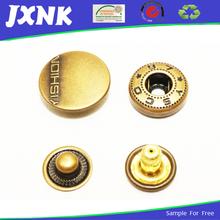 metal snap button closure denim jacket