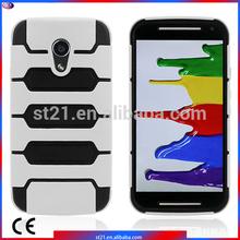 Celulares Alibaba Best Sellers Smartphone Case Tanks Armor Hybrid Cover Mobile Phone Case For Motorola MOTO G2 (2014)