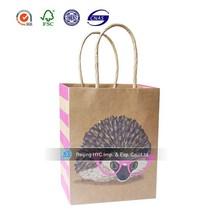 Pretty animal logo printed paper bag