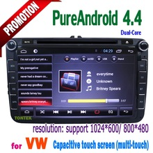 all functions 8.0 inch double din special car audio and video for polo 2011 with GPS BT TV steering wheel control