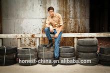 2015 diseño de moda cómoda el último estilo caliente nuevos productos para hombre largo delgado de prendas de vestir pantalones de carga