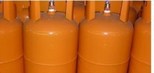 12.5kgs with valve pressure vessles gas cylinders