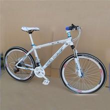 Suspension bike/Suspension white mountain bike
