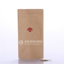 Alibaba Best Seller Hot Sale Stand up Kraft Paper Custom Apparel Packaging Bag