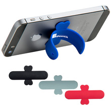 silicon,100% soft silicon Material and No Charger silicone mobile phone holders