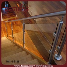 aluminium U channel tempered glass railings fence