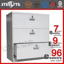 High quality professional metal drawer cabinet/3 drawer metal file cabinet