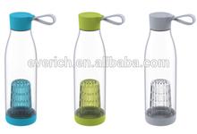 650ml Hot new plastic fruit infuser water bottle,tritan water bottle plastic new,fruit infuser water bottle
