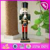 2015 Children doll wooden soldier nutcracker,Wooden doll for chidren,Wooden toy children doll for christmas decoration W02A013B