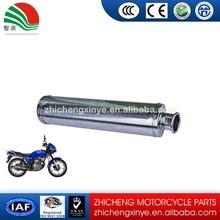 universal stainless steel ip exhaust titanium color muffler