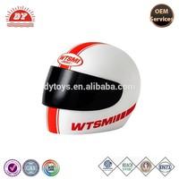 Motorcycle Helmet Piggy Bank Money plastic helmet coin bank