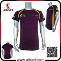 Toptan spor 100% polyester t- shirt boya süblimasyon