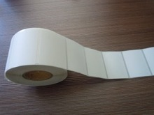 direct Self Adhesive Label Coated thermal Compatible Label size 90 mmX100 mm thermal transfer label
