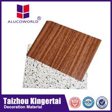 Alucoworld elegant appearance architectural aluminium composite panel