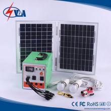 HOT!6w solar panel system for home/solar generator