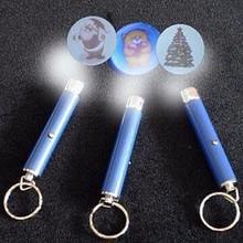 Jiangxin mini metal shooting logo projector pen, custom laser logo projector pen,led light logo projector pen