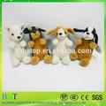 Quatro cores brinquedos de pelúcia pelúcia cão
